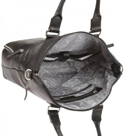 Бизнес сумка Gianni Conti 1752258-black-grey