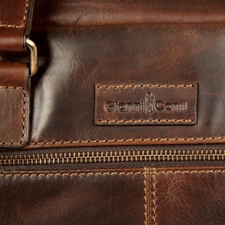 Мужская сумка Gianni Conti 1221265 derk brown