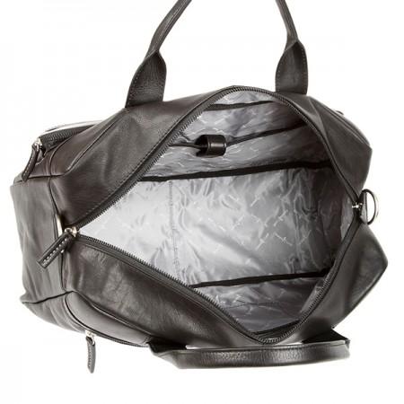 Мужская сумка Gianni Conti 1751278-black-grey