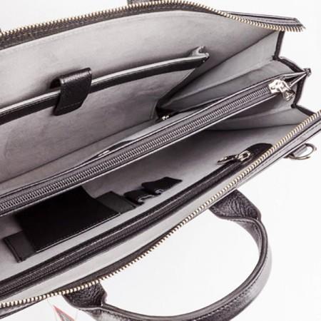 Бизнес сумка NarVin 9749-N.Polo-Black