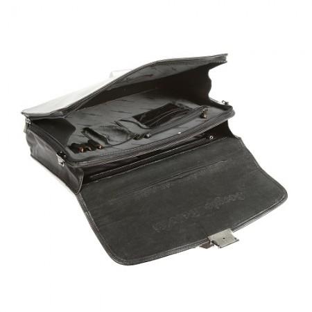 Портфель Sergio Belotti 8092 milano black