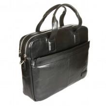Бизнес-сумка Sergio Belotti 9995 VEGETALE black
