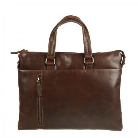 Бизнес-сумка Gianni Conti 1221263 dark brown