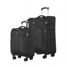 Комплект Чемоданов Verage GM17026W 18,5/24 black