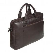 1811342 dark brown Бизнес-сумка Gianni Conti