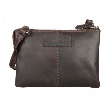 2502559 dark brown Женская сумка Gianni Conti