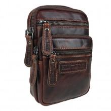 Поясная сумка-планшет Hill Burry Nr. 3192 Tan Brown