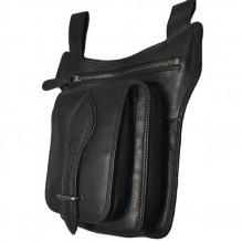 Мужская поясная сумка Hill Burry NR. 4052 Black