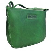 Женская кожаная сумка через плечо Hill Burry NR. 4081 Green