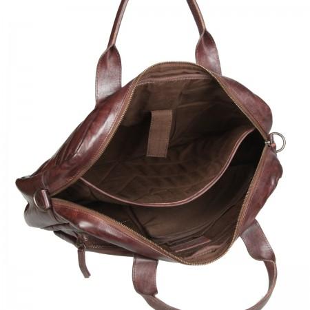 4101266 brown Бизнес-сумка Gianni Conti