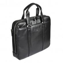 6035 west black Бизнес-сумка Sergio Belotti