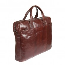 701245 brown Бизнес-сумка Gianni Conti