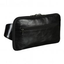 Напоясная сумка Sergio Belotti 8737 milano black