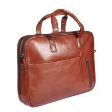 9282 milano brown Бизнес-сумка Sergio Belotti