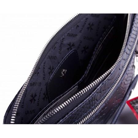 Клатч мужской кожаный 9438 N.Anaconda D.Blue