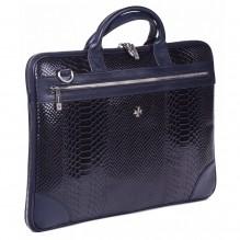 Бизнес сумка NarVin 9742 N.Anaconda D.Blue