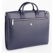 Бизнес сумка NARVIN 9749-N.Polo/D.Blue