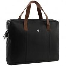 Бизнес сумка NarVin 9765 N.Polo Black Brown