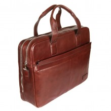 9954 VEGETALE brown Бизнес-сумка Sergio Belotti