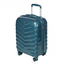 GM15059W19 smoke blue Чемодан-тележка Verage