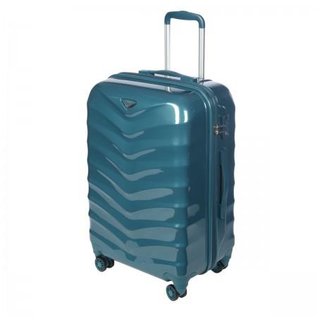 GM15059W24 smoke blue Чемодан-тележка Verage