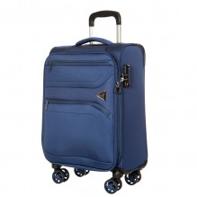 GM18063W19 blue Чемодан-тележка Verage