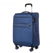 GM18063W24 blue Чемодан-тележка Verage